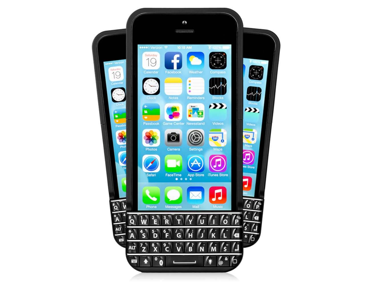 Klawiatura BlackBerry w iPhone nowosci, akcesoria Typo, klawiatura BlackBerry, klawiatura, iPhone5s, iPhone5c, iPhone5, Apple, Akcesoria   Klaw